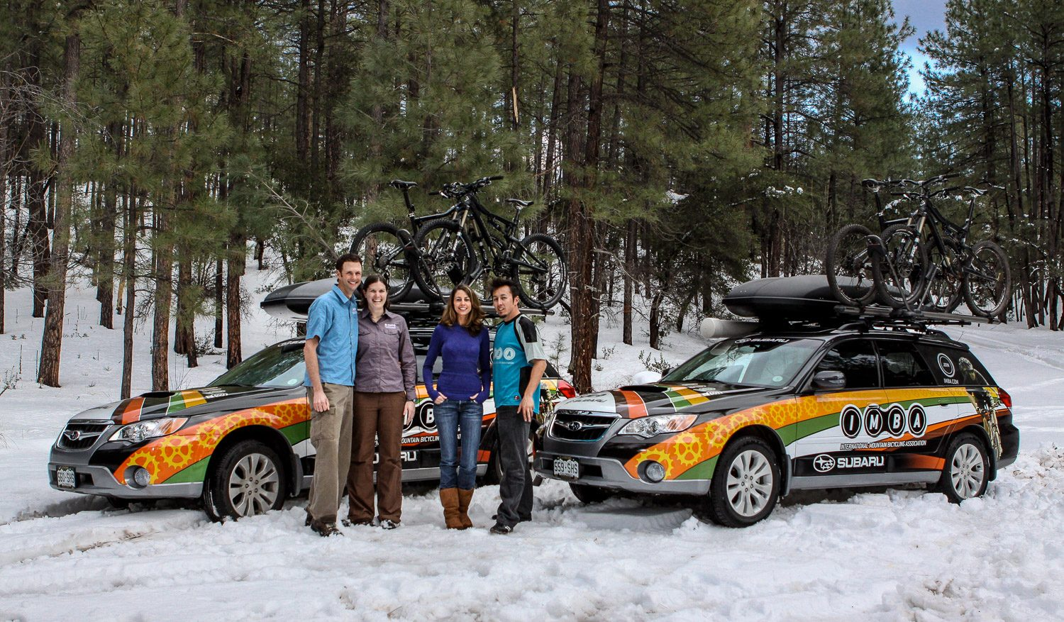 On the Road With the Subaru/ IMBA Trail Care Crews