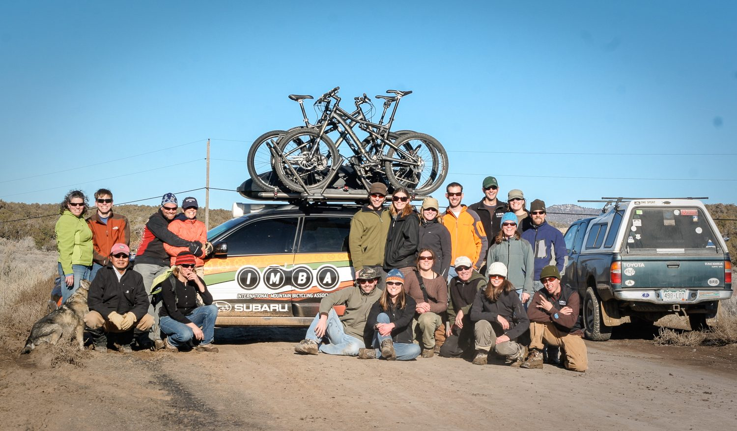 Subaru/ IMBA Trail Care Crew visits: Part One
