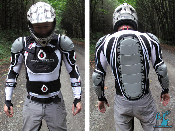 661 Pressure Suit- Front and rear view