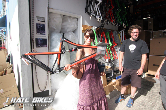 Sneaking into 104 Bronson- home of Santa Cruz Bicycles