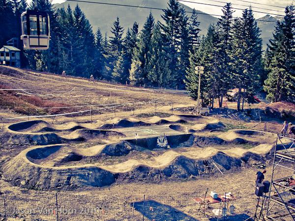 The Whistler Pump Tracks