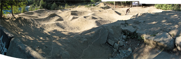 OG Whistler pump track