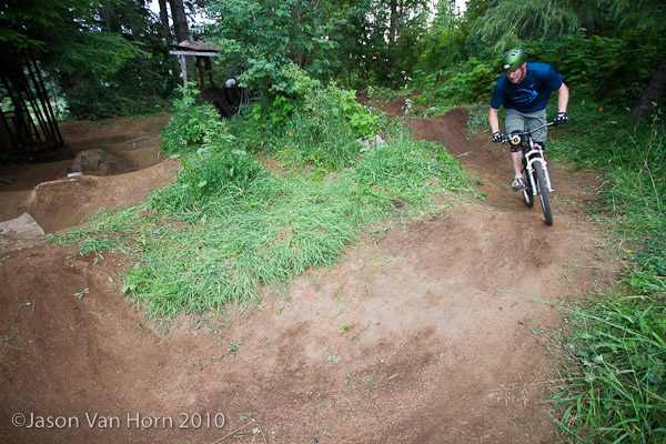 Backyard Pump Track Designs : new extension of track offers expanded line options