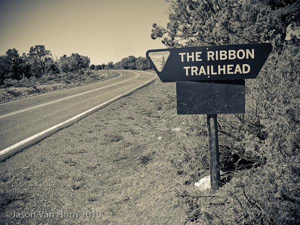 The Ribbon Trail Head