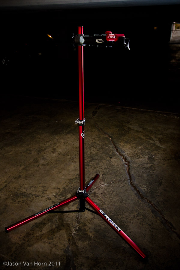 Can a repair stand be sexy? I don't know, but this stand works as well as it looks.