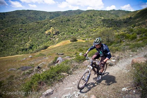 XC/AM ride at Tamarancho in Fairfax.