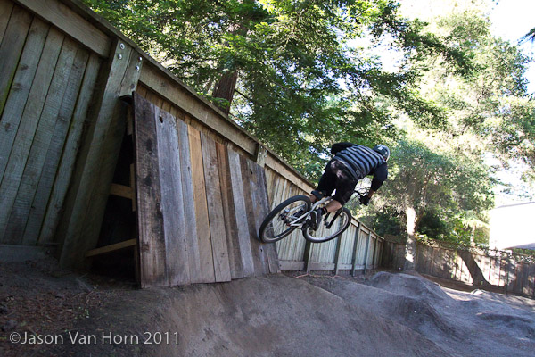 The wall ride line was super fun- the trick was to get on early and exit into the transition in order to keep momentum.