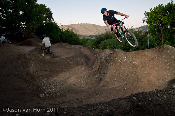 Rollable double line into 180 berm #2.