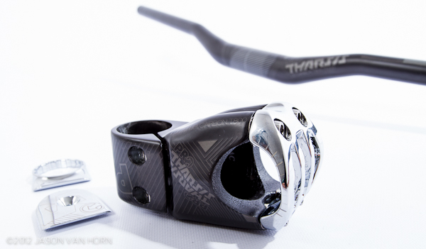 Shimano Pro Tharsis carbon Handlebar and Stem.