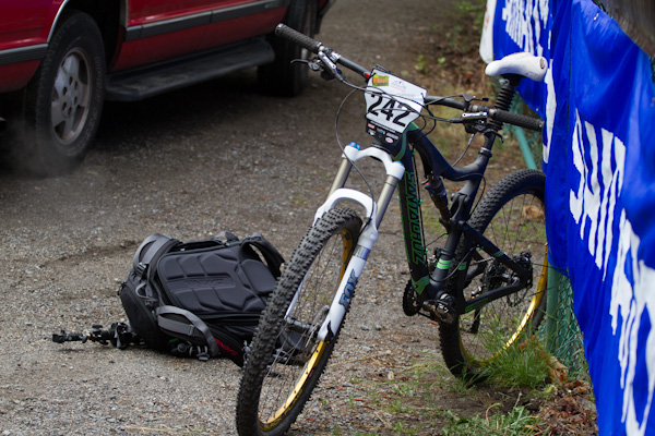 The Blur TRc is the official bike of the Oregon Enduro series for good reason.