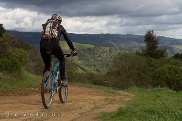 A sampling of the dirt roads of the East Bay