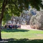 Picnic area at Del Valle Park.