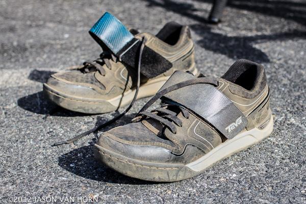Teva Pivot Pre-production SPD compatible trail riding shoes