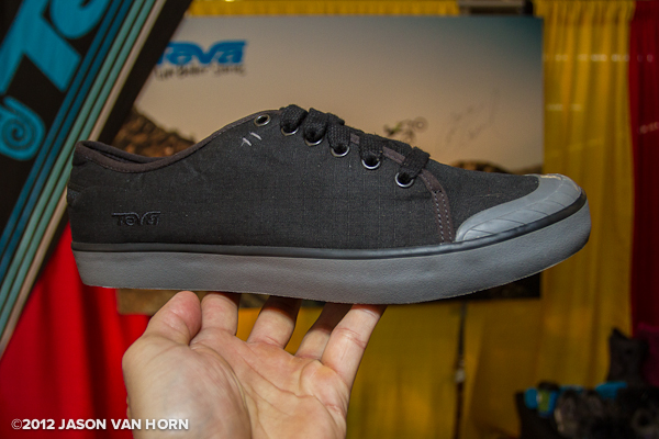 New shoe offering from Teva with a canvas upper.