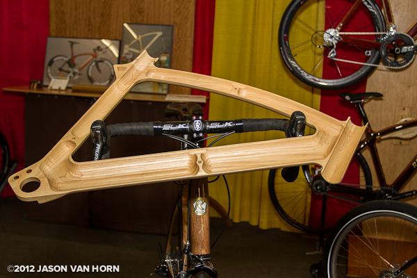 Cut away of a Renovo wood frame
