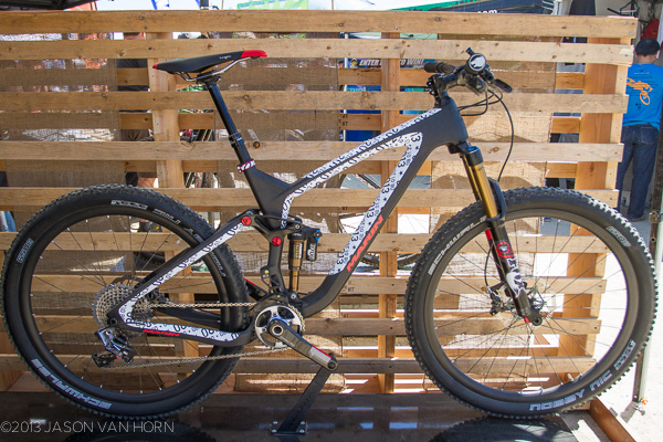 New carbon 650b prototype from Marin Bikes.