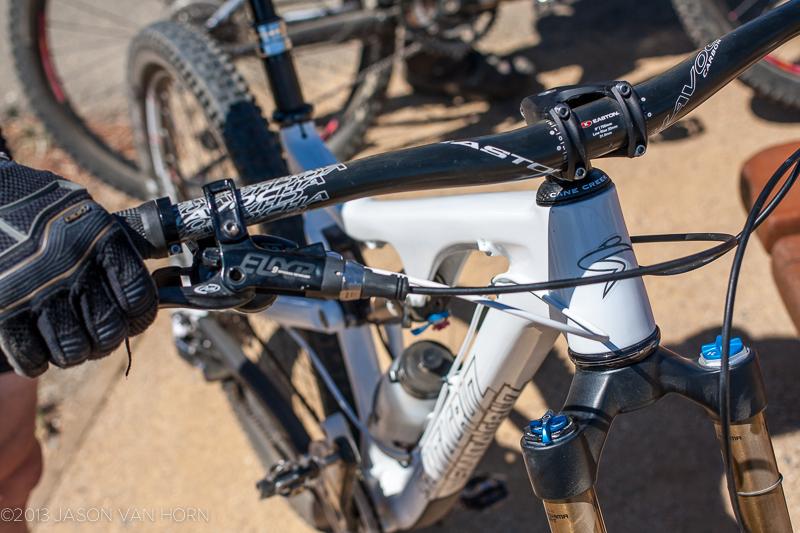 Ian Massey's Santa Cruz Bronson 650b trail ripper.