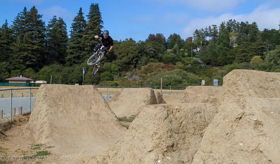 Polo Grounds Bike Park Santa Cruz Ca