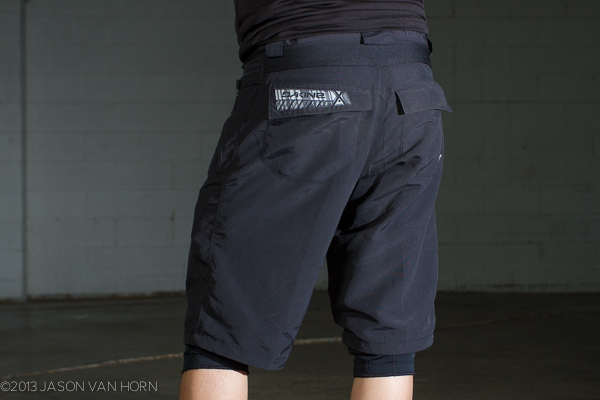 Rear pocket view of the Syncline Short