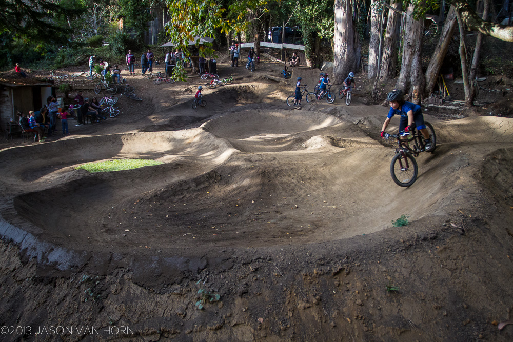 The Brazil Pump Track in Montara, CA