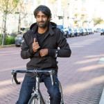 Betabrand Bike to Work Jacket and Jeans