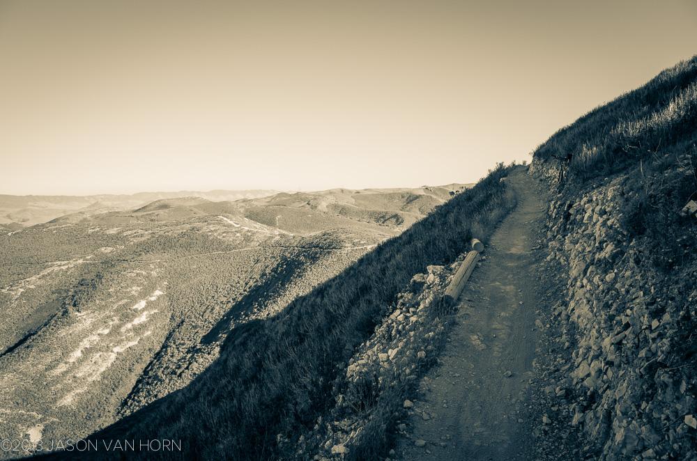 Last stretch to the summit of Hazard Peak