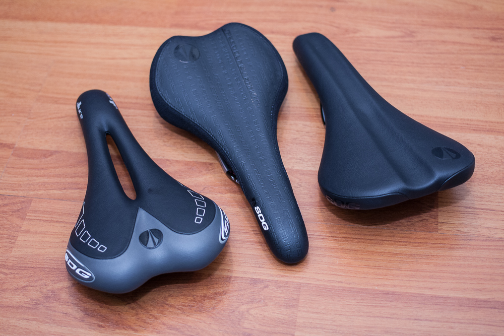 Saddles from SDG: the Allure, Circuit and Falcon