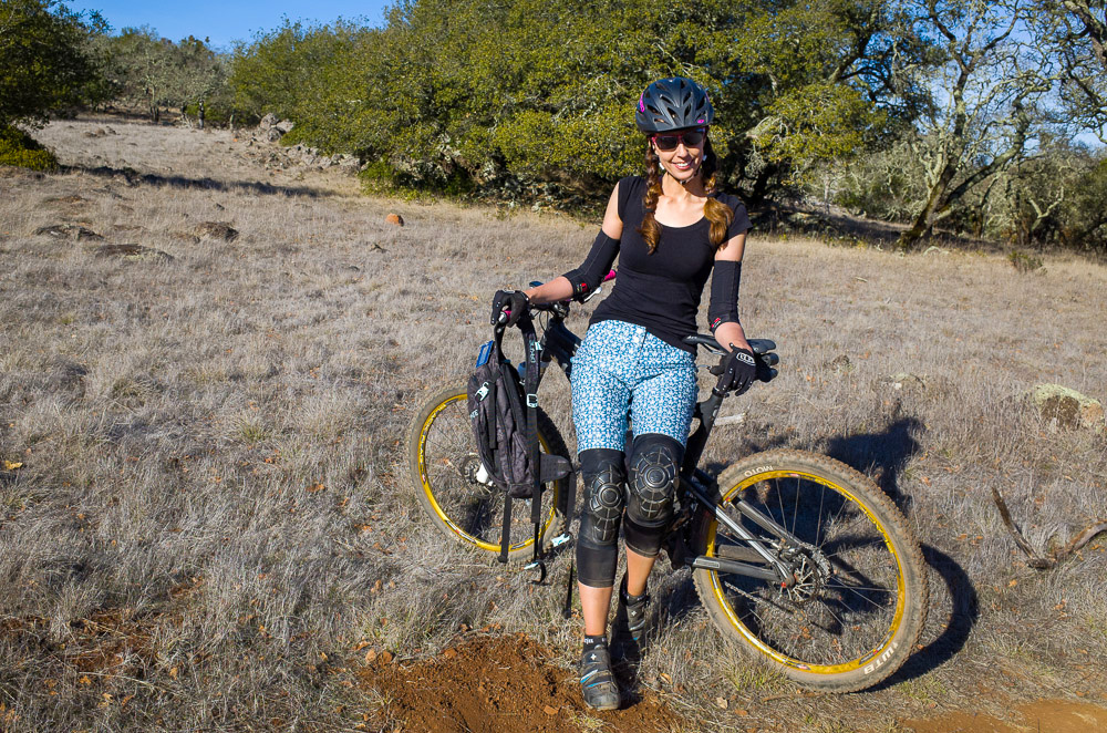 A quick break while riding Annadel State Park.