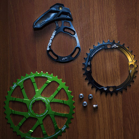 image for XX1 Alternative: Shimano 1×10 Wide Range Conversion featuring the OneUp Components 42t