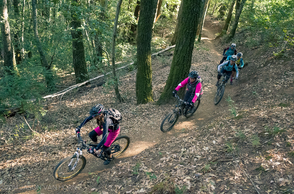 Pink is the new black; at a recent Ride Like a Girl Ride at Skeggs