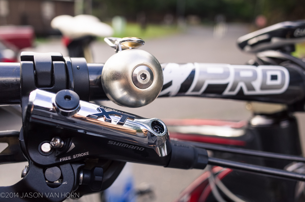 The Spurcycle Bike Bell.