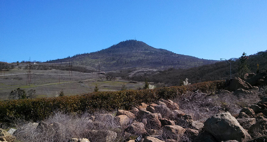 Roxy Ann Peak near Medford, Oregon. Photo courtesy of RVMBA/ BEll