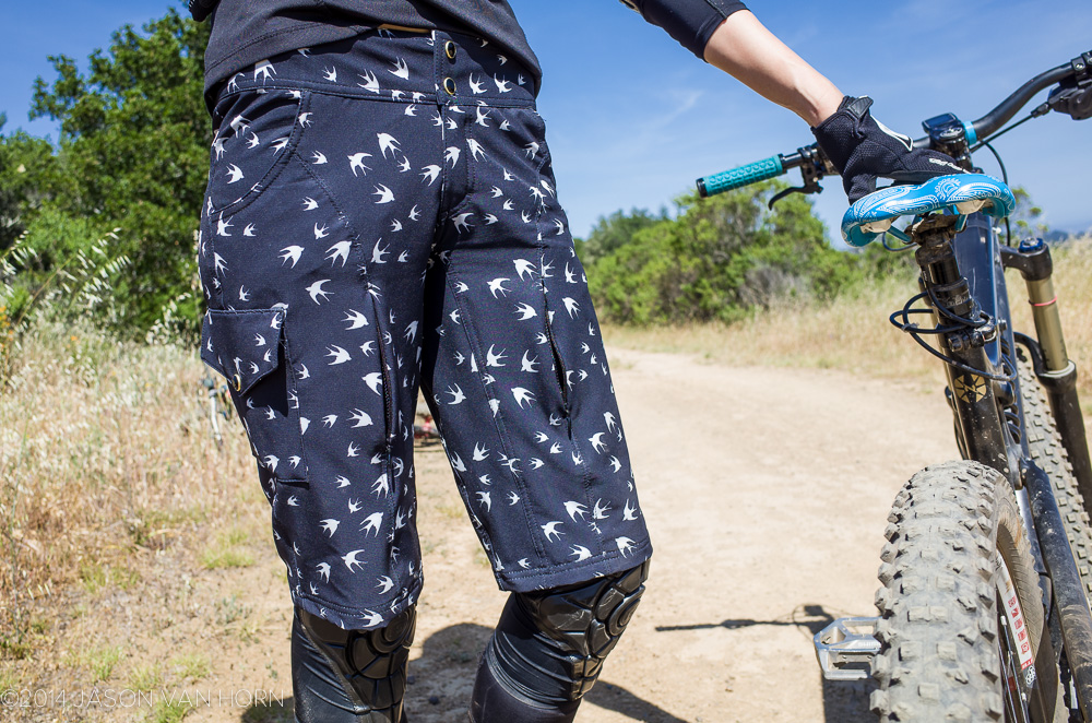 The Louise women's MTB Knicker from Shredly.