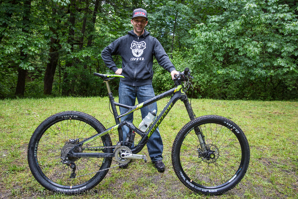 Jason Moeschler and his Cannondale