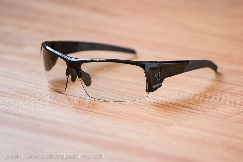 Ryders Caliber with grey photochromic lenses