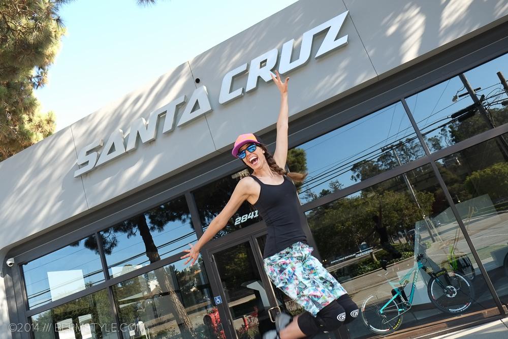 Inga at Santa Cruz HQ