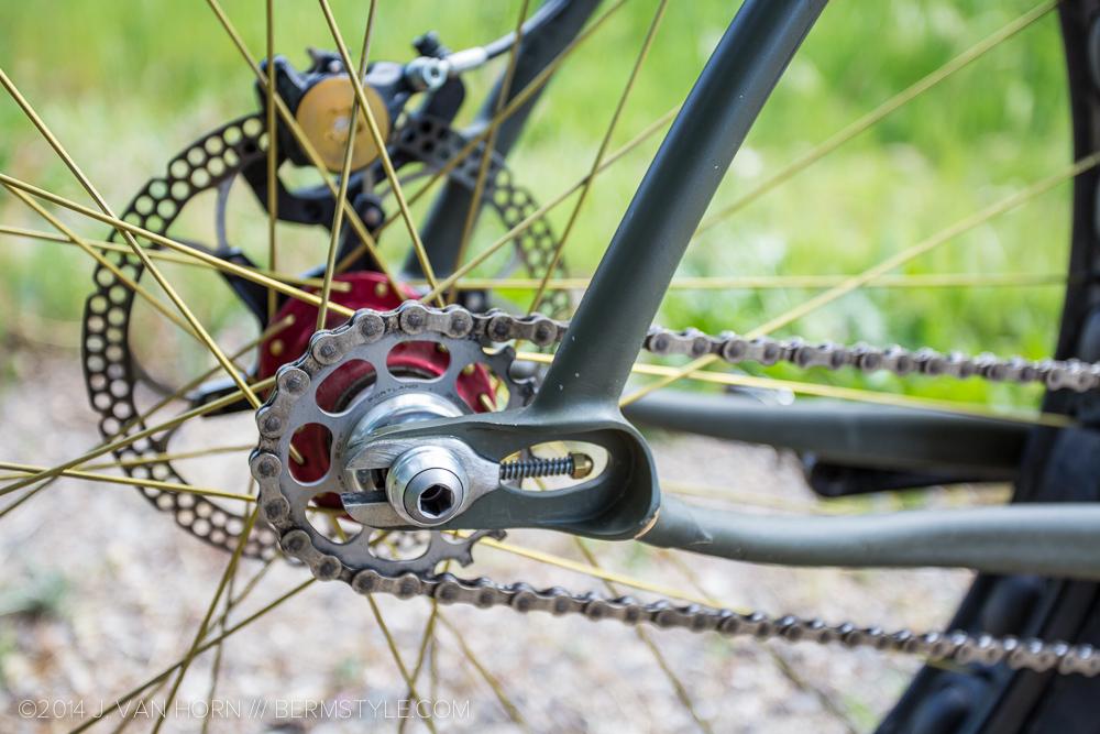King Hubs and Formula brakes