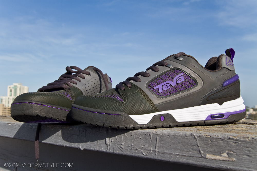 Teva Links in purple.