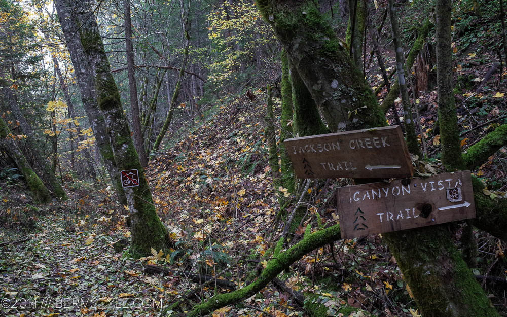 Jackson Creek Trail is off limits to bicycles
