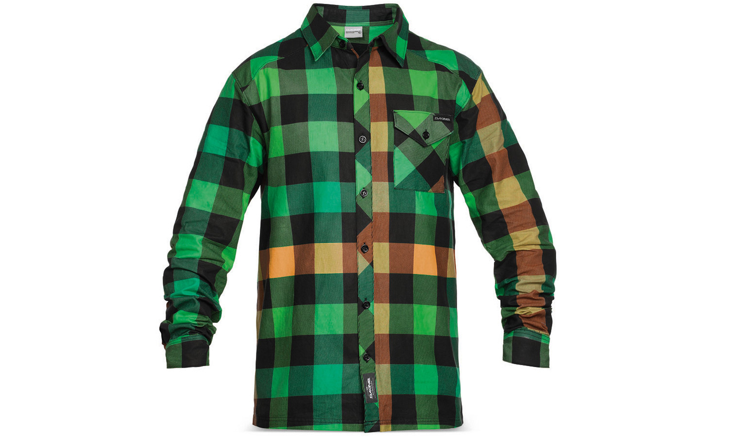 Dakine Oakridge flannel in green