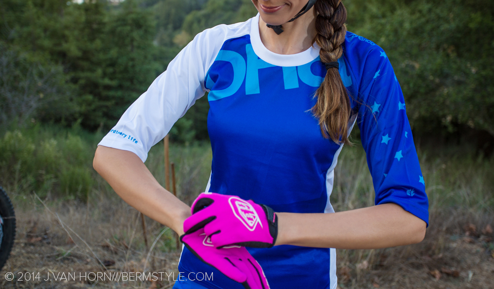 Blue DHaRCO 3/4 Trail Jersey