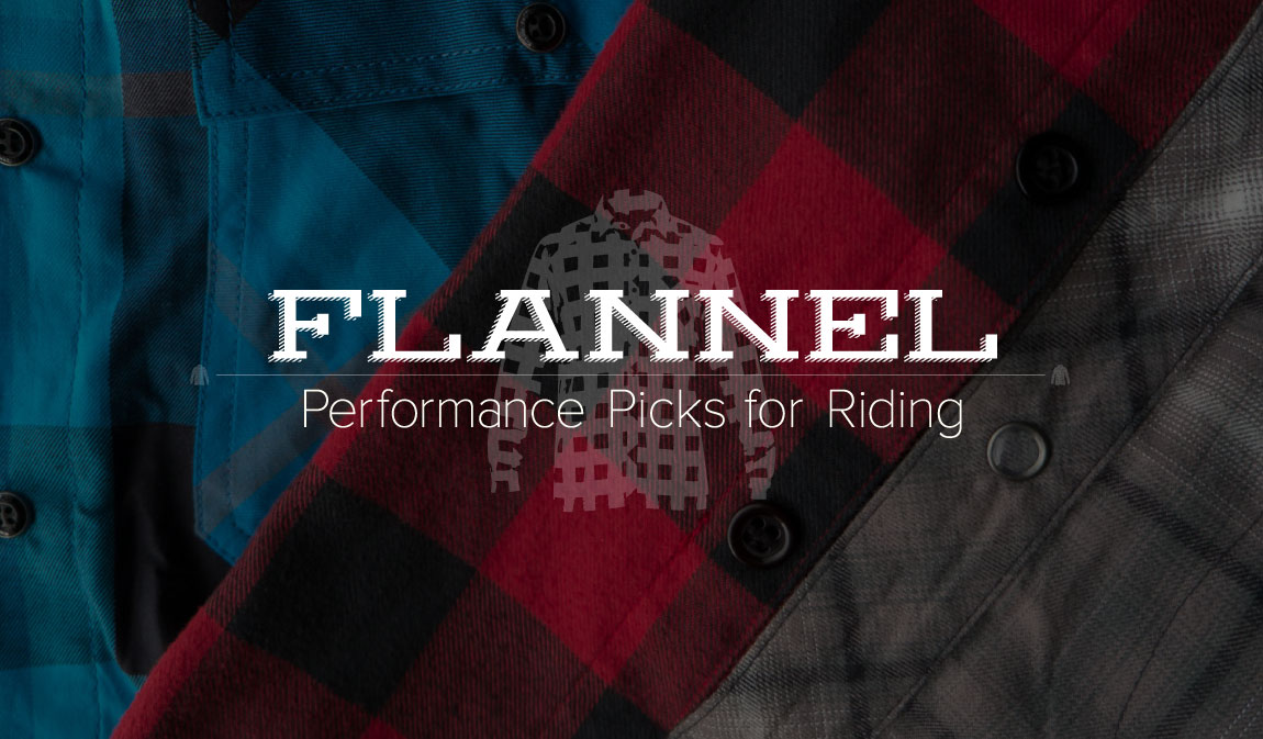 Post image for Flannel for Fall: Performance Flannel for Riding