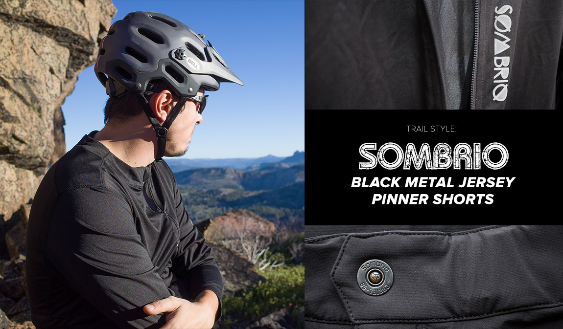 Sombrio Black Metal Jersey and Pinner Shorts Review