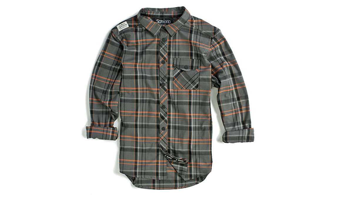 sombrio vagabond riding flannel