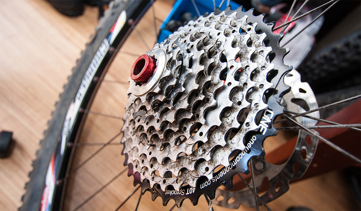 Review: OneUp Components 40T Sprocket