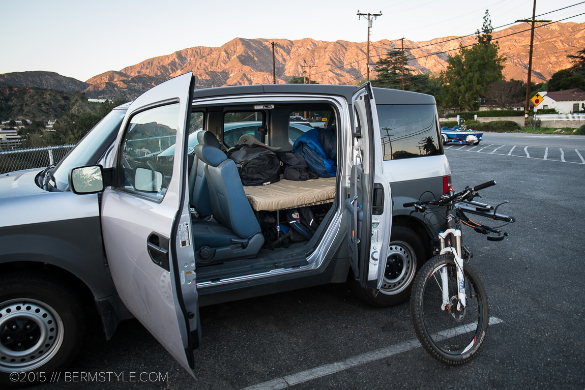The MegaLamina 20 combined with a quality foam pad makes for comfortable sleeping on bike trips.