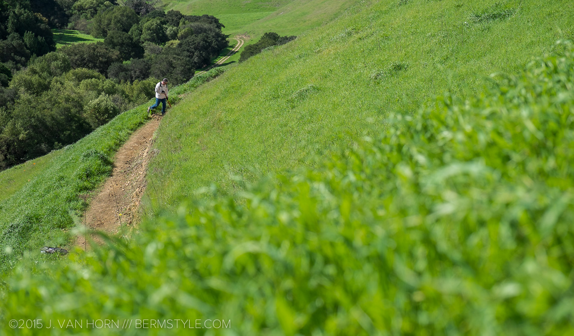 My first sampling of the new single track at Crocket Hills Regional Park.