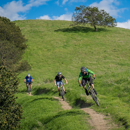 image for New Mountain Bike Friendly Multi-Use Trails at Crockett Hills Regional Park
