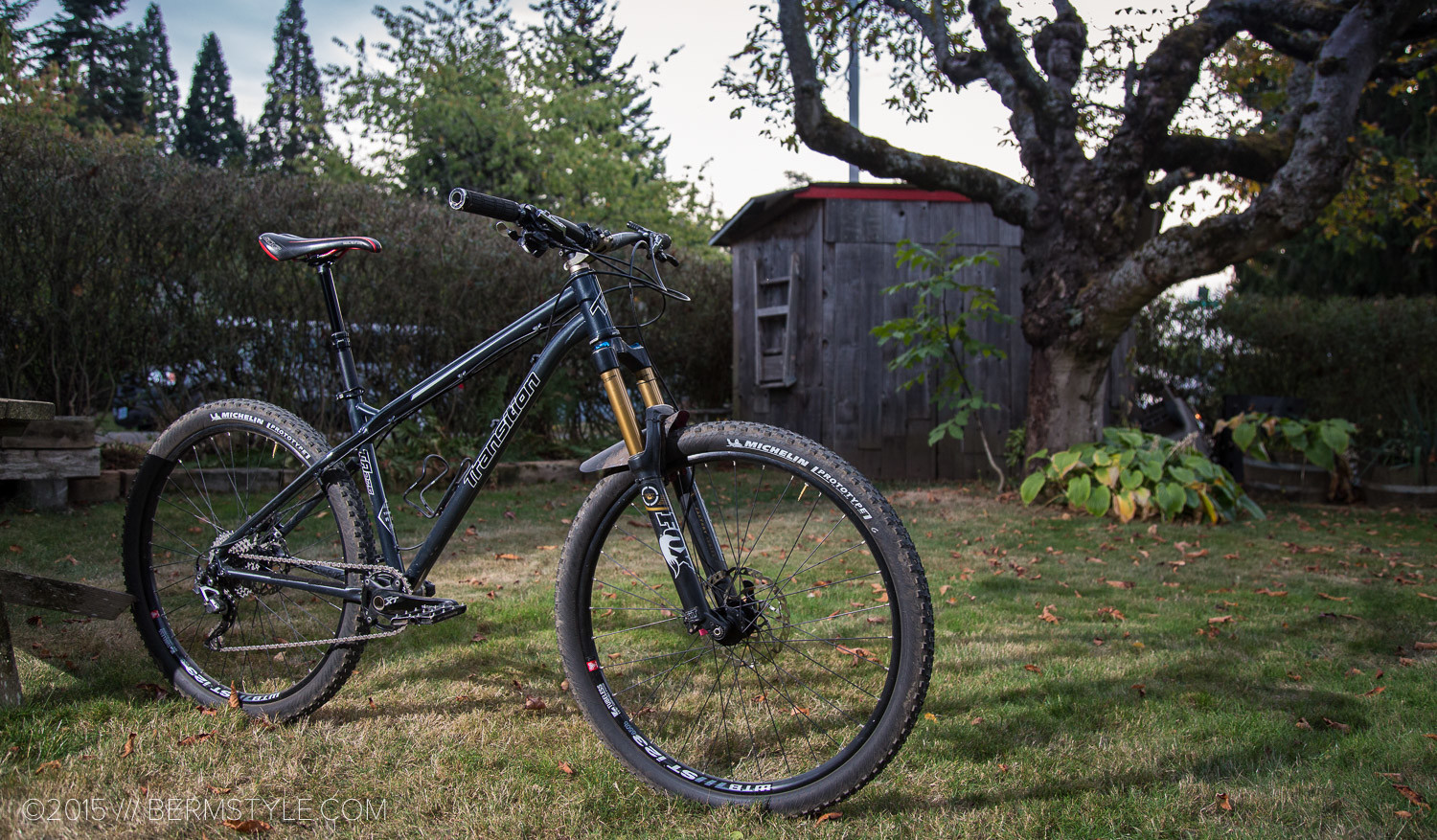 The 650b TransAm from Transition Bicycles