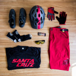 Style Check: Men's Trail Riding Kit in Red Featuring the TLD Skyline Short